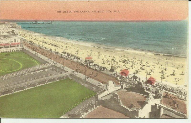 Atlantic City, N.J., The Life At The Ocean