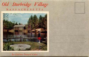 Folder - Old Sturbridge Village, MA          12 views + narrative