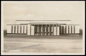 Germany 1935 Ausstellung Berlin Deutschlandhalle Real Photo RPPC Card 71610