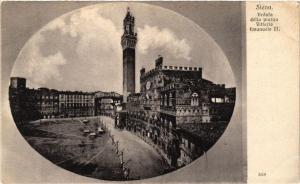 CPA SIENA Veduta della piazzo Vittorio Emanuele II. ITALY (467596)