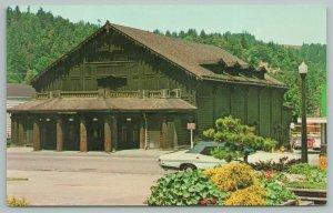 Scotia California~Redwood Theatre~Vintage Postcard