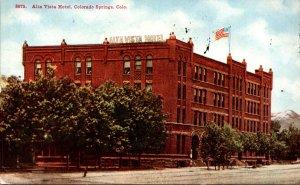 Colorado Colorado Springs Alta Vista Hotel 1913