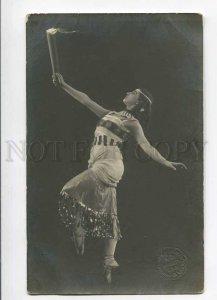 279986 Vera FOKINA Russia BALLET DANCER Art Nouveau PHOTO old
