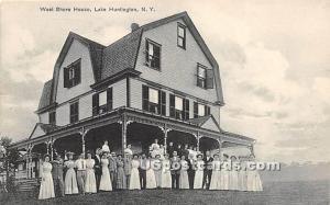 West Shore House Lake Huntington NY 1916