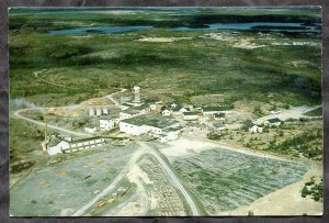 p323 - YELLOWKNIFE NWT 1974 Giant Mine. Gold Mining