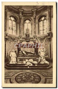 Postcard Old Chapel Lisieux and St. hunting