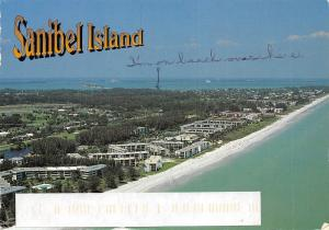 USA Sanibel Island Aerial view General view Panorama Beach Plage