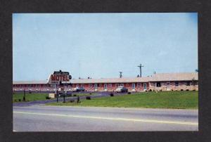 MD Rest Over Motel HAGERSTOWN MARYLAND POSTCARD PC