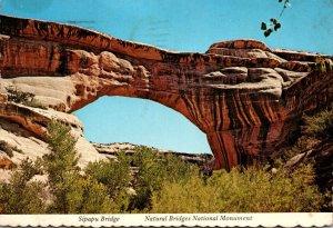 Utah Natural Bridges National Park Sipapu Bridge 1977