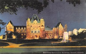 Provincial Government Buildings Toronto Unused