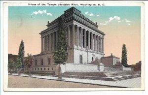 Washington, DC - House of the Temple (Scottish Rite) - 1923