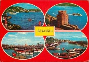 Turkey Postcard Istanbul multi view