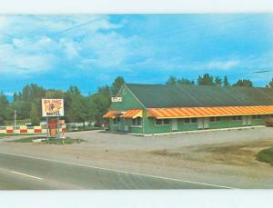 Unused Pre-1980 BIG CHIEF MOTEL Kalispell Montana MT n7821