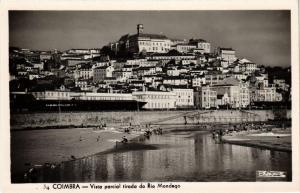 CPA Coimbra- Vista parcial tirada do Rio Mondego, PORTUGAL (760787)