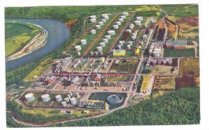 Oil Refinery , Edmonton , Alberta , Canada , 40-60s