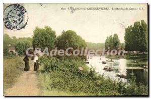 Postcard Old La Varenne Chennevieres Les Bords De Marne