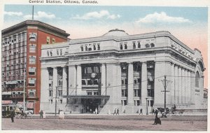 OTTAWA, Ontario, Canada, 1910s ; Central Station