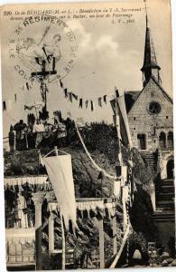 CPA Ile de BÉHUARD-Benediction du T. S. Sacrement (189971)