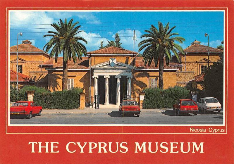 Cyprus The Cyprus Museum Nicosia Cars Voitures