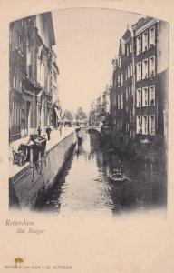 Rotterdam , Netherlands , 1890s ; Het Steiger