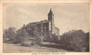 12918   MA  Worcester 1912    College de   l'Assumption