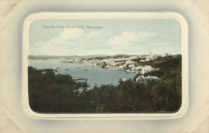 bermuda, Islands from Gibbs Hill (1910s) Embossed