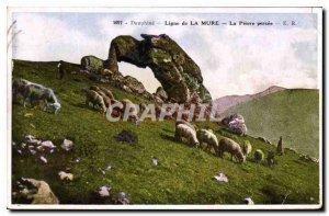 Old Postcard Dauphine line Mure Pierre breakthrough