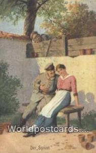 Der Spion Germany, Deutschland Postcard  Der Spion