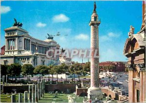 Postcard Modern Rome Altar of the Fatherland