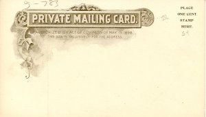 VT - Montpelier. First Baptist Church (Private Mailing Card)