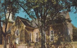 Virginia Williamsburg Bruton Parish Church 1973
