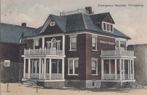 TILLSONBURG  , Ontario , Canada , 1900-10s ; Emergency Hospital
