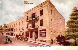 Arkansas Hot Springs Townsend Hotel