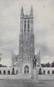 North Carolina Durham Duke Chapel Duke University Albertype