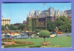 Victoria, B.C./BC, Canada Postcard, Empress Hotel