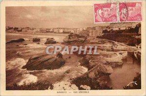 Old Postcard Biarritz - General view