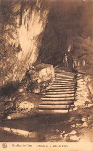 Belgium Grottes de Han L'Entree de la Salle du Dome