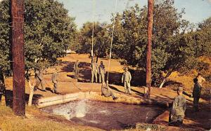 San Antonio Texas~Lackland Air Force Base~Our Obstacle Course~1973 Viet Nam Era