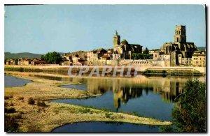 Modern Postcard Pont Saint Esprit Gard General view of the Church of St Peter...