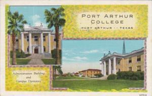 Texas Port Arthur Administration Building and Campus Dormitory Port Arthur Co...
