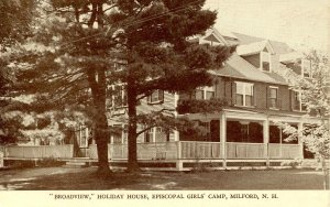 NH - Milford. Broadview, Holiday House, Episcopal Girls' Camp