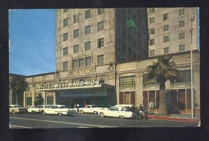 PHOENIX ARIZONA HOTEL WESTWARD HO 1950's CARS VINTAGE ADVERTISING POSTCARD