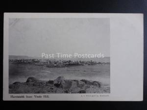South Africa HARRISMITH FROM VREDE HILL c1909 old Postcard by A.S. Welch & Co