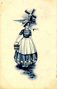 Dutch Lady, Wind Mill