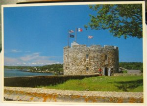 United States Fort William Henry Pemaquid Beach Maine - unposted