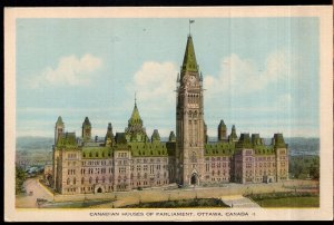 Ontario OTTAWA Canadian Houses of Parliament - PECO - White Border