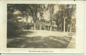 The Black House, Ellsworth, Maine