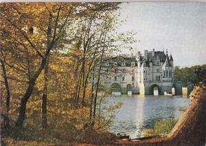 BF20241 val de loire le chateau de chenonceaux  france  front/back image