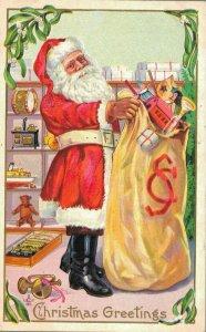 Christmas Greetings - Santa Claus Christmas Presents 04.02