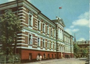 Latvia, Liepaja, Building of the Executive Committee